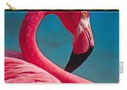 Flexible Flamingo Carry-all Pouch