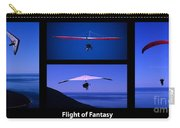Flight Of Fantasy With Caption Carry-all Pouch