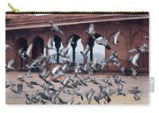 Flight Of Pigeons Inside The Jama Masjid In Delhi Carry-all Pouch