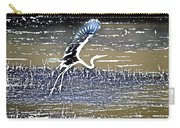 Flight Of The Egret V5 Carry-all Pouch