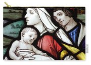Flight To Egypt Stained Glass Carry-all Pouch