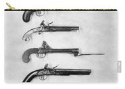 Flintlock Pistols Carry-all Pouch