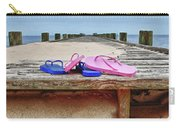 Flip Flops On The Dock Carry-all Pouch
