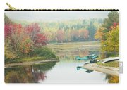 Float Plane On Pond Near Golden Road Maine Photo Poster Print Carry-all Pouch