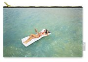 Floating At Sea Carry-all Pouch