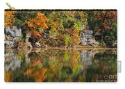 Floating Leaves In Tranquility Carry-all Pouch