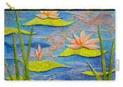 Floating Lilies Carry-all Pouch