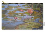 Floating Lillies Carry-all Pouch by Mohamed Hirji