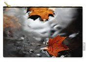 Floating Maple Leaves Carry-all Pouch