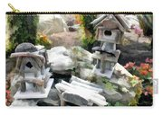 Flock Of Rustic Birdhouses Carry-all Pouch
