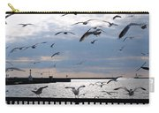 Flocking Gulls Carry-all Pouch