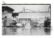 Flooding On The Mississippi River, 1909 Carry-all Pouch
