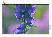 Floral Crystal Carry-all Pouch