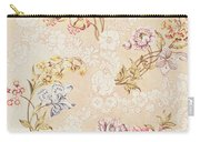 Floral Design With Peonies Lilies And Roses Carry-all Pouch by Anna Maria Garthwaite