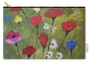Floral Fields Carry-all Pouch