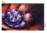 Floral Flame Carry-all Pouch