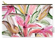 Floral Fourteen Carry-all Pouch