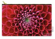 Floral Honeycomb Carry-all Pouch