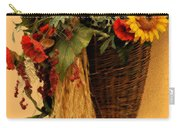 Floral Horn Of Plenty Carry-all Pouch