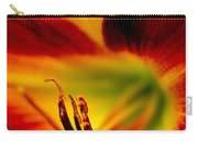 Floral Macro Of A Blossom Carry-all Pouch