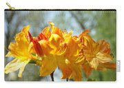 Floral Nature Art Print Oragen Rhodies Flowers Baslee Carry-all Pouch