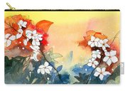 Floral Neklace Carry-all Pouch by Anil Nene