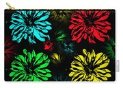 Floral Pop Art Carry-all Pouch