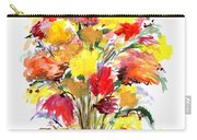 Floral Seven Carry-all Pouch