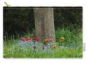 Floral Surrounding Carry-all Pouch