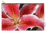 Floral Textures I Carry-all Pouch