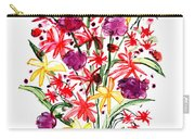 Floral Three Carry-all Pouch