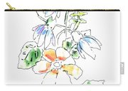 Floral Watercolor Paintings 4 Carry-all Pouch