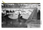 Florence Italy - Vecchio Bridge And River Arno Carry-all Pouch