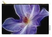 Flower - Clematis - Abstract Carry-all Pouch