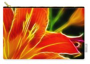 Flower - Lily 1 - Abstract Carry-all Pouch