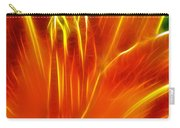 Flower - Orange - Abstract Carry-all Pouch