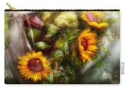 Flower - Sunflower - Gardeners Toolbox  Carry-all Pouch