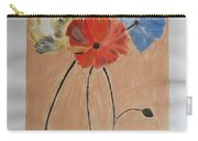 Flower And Bud Carry-all Pouch