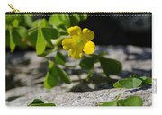 Flower And Dancing Clover Carry-all Pouch