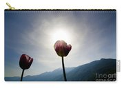 Flower And Sun Carry-all Pouch