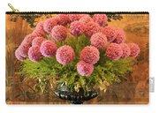 Flower Arrangement Chateau Chenonceau Carry-all Pouch