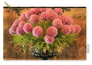 Flower Arrangement Chateau Chenonceau Carry-all Pouch