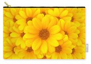 Flower Background Carry-all Pouch