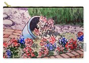 Flower Bed Sketchbook Project Down My Street Carry-all Pouch