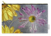 Flower Blossoms Under Ice Carry-all Pouch