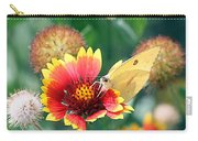 Flower Butterfly Carry-all Pouch