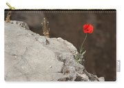 Flower By The Pool Of Bethesda - Israel Carry-all Pouch