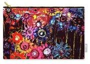 Flower Garden Carry-all Pouch by Karen Elzinga