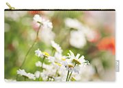 Flower Meadow Carry-all Pouch by Elena Elisseeva