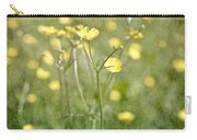 Flower Of A Buttercup In A Sea Of Yellow Flowers Carry-all Pouch